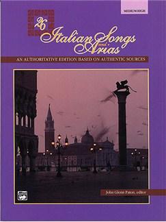 26 Italian Songs And Arias (Medium/High Voice) (Book/CD) Books and CDs | Medium, High Voice, Piano Accompaniment