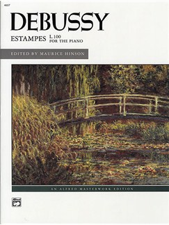 Debussy: Estampes Books | Piano
