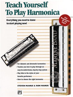 Teach Yourself To Play Harmonica Books | Harmonica