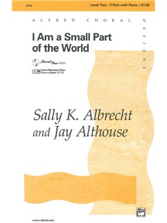 Sally Albrecht: I Am A Small Part Of The World Bog | 2-stemmigt kor, Klaverakkompagnement