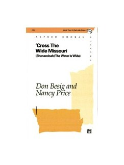 Don Besig/Nancy Price: Cross The Wide Missouri (2-Part) Books | 2-Part Choir, Flute