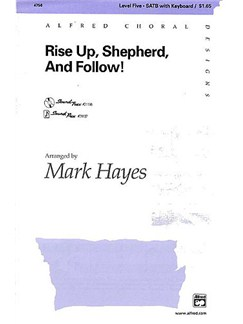 Rise Up Shepherd And Follow Books | SATB, Keyboard