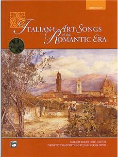 Italian Art Songs Of The Romantic Era (Medium/ Low Voice) (Book/CD) Books | Medium Voice, Low Voice, Piano Accompaniment