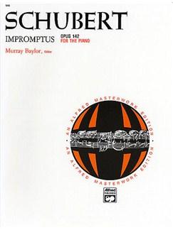 Franz Schubert: Impromptus Op.142 Books | Piano