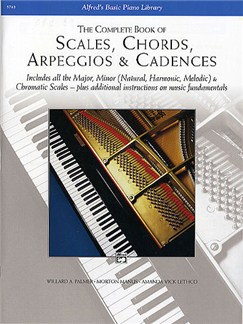 The Complete Book Of Scales, Chords Arpeggios And Cadences Books | Piano