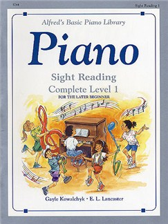 Alfred's Basic Piano Sight-reading Level 1 Complete Books | Piano