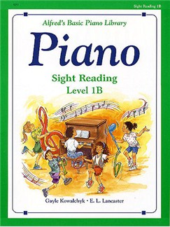Alfred's Basic Piano Sight-reading Level 1B Books | Piano