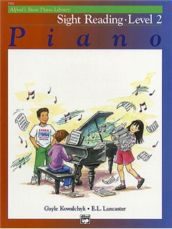 Alfred's Basic Piano Sight-reading Level 2 Books | Piano