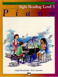 Alfred's Basic Piano Sight-reading Level 3 Books | Piano