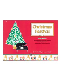 Christmas Festival - Book 1 Books | Piano