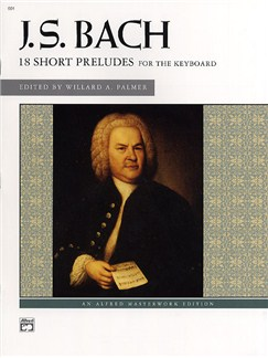 J.S. Bach: 18 Short Preludes Books | Harpsichord, Piano and Keyboard Instruments