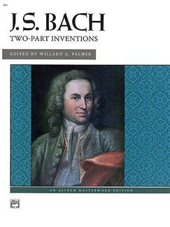 J.S. Bach: Two Part Inventions Masterwork Edition Books | Piano