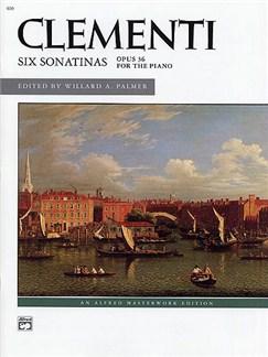 Muzio Clementi: Six Sonatinas Op.36 Libro | Piano