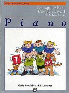Alfred's Basic Piano Library - Notespeller Book Complete Level 1 Books | Piano