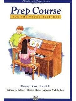 Alfred's Basic Piano Prep Course Theory: Book E Books | Piano