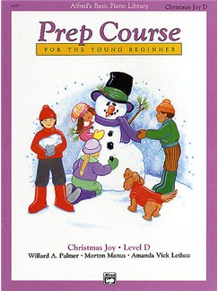 Alfred's Basic Piano Library: Prep Course Christmas Joy Level D Books | Piano, Piano Duet