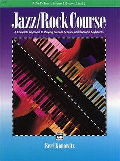 Alfred's Basic Piano Library: Jazz/Rock Course Level 1 Books | Piano