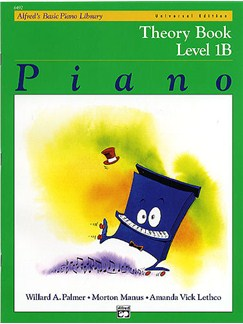 Alfred's Basic Piano Library: Theory Book Level 1B Books | All Instruments