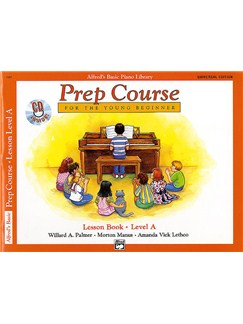 Alfred's Basic Piano Library: Prep Course Lesson Book Level A (Book/CD) Books and CDs | Piano