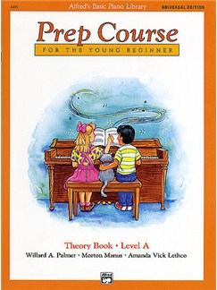 Alfred's Basic Piano Library: Prep Course Theory Book Level A Books | Piano