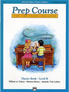 Alfred's Basic Piano Library: Prep Course Theory Book Level B Books | Piano