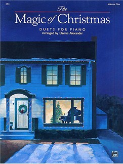 The Magic Of Christmas - Duets For Piano (Volume 1) Books | Piano Duet