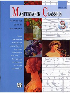 Masterwork Classics: Levels 1-2 (Book/CD) Books and CDs | Piano, Keyboard, Organ