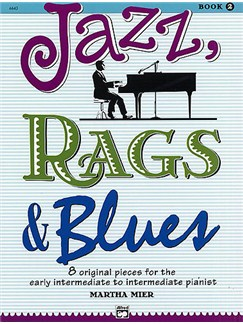 Martha Mier: Jazz, Rags And Blues - Book 2 Books | Piano