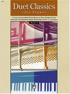 Duet Classics For Piano. Book 3 Books | Piano Duet