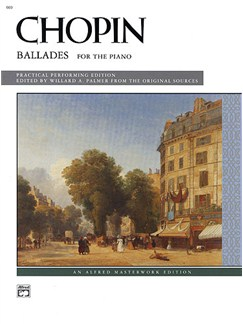 Frederic Chopin: Ballades For The Piano Books | Piano