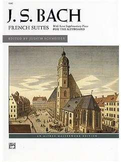 J.S. Bach: French Suites Books | Keyboard, Piano