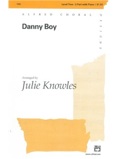 Arr. Julie Knowles: Danny Boy (2-Part) Books | 2-Part Choir, Piano Accompaniment