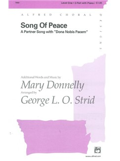 Mary Donnelly: Song Of Peace (2-Part/Piano) Books | 2-Part Choir, Piano Accompaniment