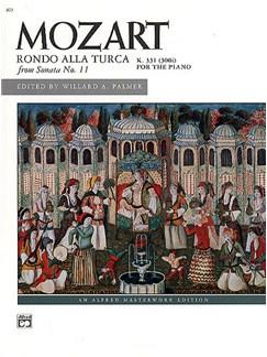 Wolfgang Amadeus Mozart: Rondo Alla Turca (Sonata No.11 K.331) Books | Piano
