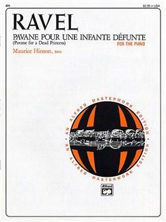 Maurice Ravel: Pavane Pour Une Infante Defunte (Piano Solo) Books | Piano