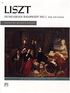 Franz Liszt: Hungarian Rhapsody No.2 Books | Piano