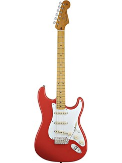 Fender: Classic Series '50s Stratocaster (Fiesta Red) Instruments | Electric Guitar