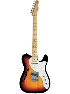 Fender: Classic Series '69 Telecaster Thinline - 3-Colour Sunburst Instruments | Electric Guitar
