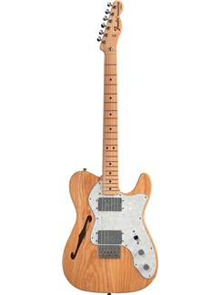 Fender: Classic Series '72 Telecaster Thinline - Natural Instruments | Electric Guitar
