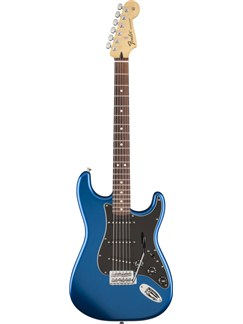Fender: Standard Stratocaster Satin - Ocean Blue Instruments | Electric Guitar
