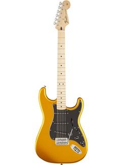Fender: Standard Stratocaster Satin - Blaze Gold Instruments | Electric Guitar