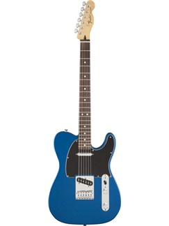 Fender: Standard Telecaster Satin - Ocean Blue Instruments | Electric Guitar
