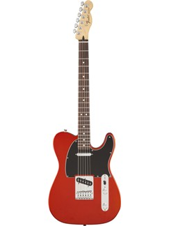 Fender: Standard Telecaster Satin - Flame Orange Instruments | Electric Guitar