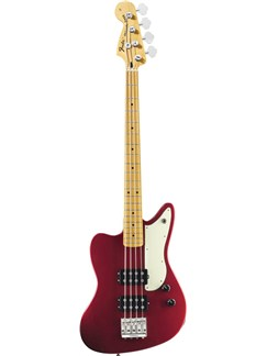 Fender: Pawn Shop Reverse Jaguar Bass (Candy Apple Red) Instruments | Bass Guitar
