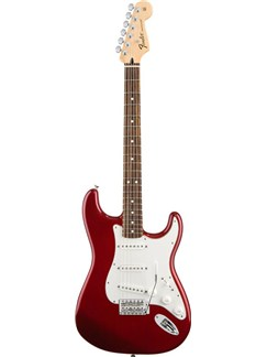 Fender: Standard Stratocaster - Candy Apple Red/Rosewood Fingerboard Instruments | Electric Guitar