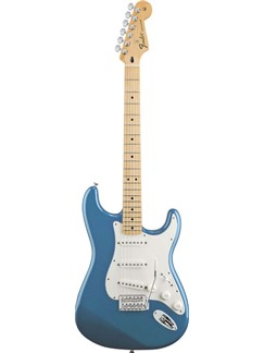 Fender: Mexican Standard Stratocaster - Lake Placid Blue Instruments | Electric Guitar