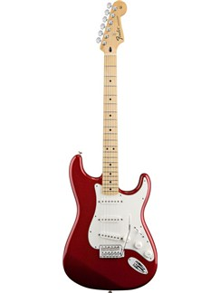 Fender: Standard Stratocaster (Maple Neck/Candy Apple Red) Instruments | Electric Guitar