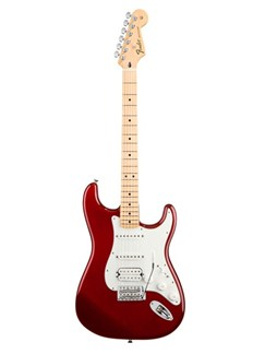Fender: Mexican Standard Stratocaster HSS Electric Guitar - Candy Apple Red Instruments | Electric Guitar