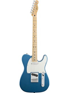 Fender: Standard Telecaster (Maple Fingerboard/Lake Placid Blue) Instruments | Electric Guitar