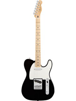Fender: Standard Telecaster - Black/Maple Fingerboard (Including Case) Instruments | Electric Guitar